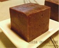 Cocoaorange cube